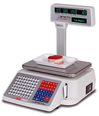 Detecto DL-1030Ps Barcode Printing Scale