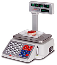 Detecto DL-1060Ps Barcode Printing Scale