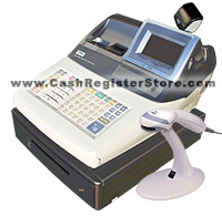 Casio TE-3000 Scanning Cash Register