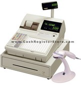 Casio TK-3200SS Scanning Cash Register