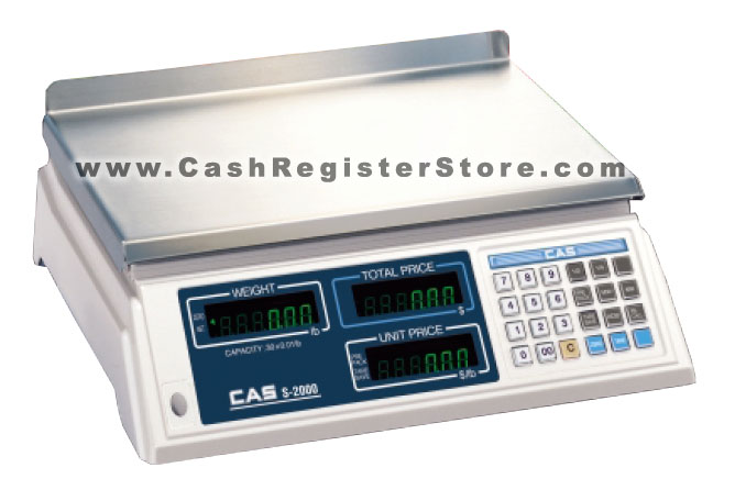 CAS S2000 Weight Scale (w/ Free Lifetime Technical Support)