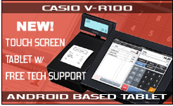 Casio V-R100 Android Tablet