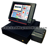Casio QT-6100 Cash Register