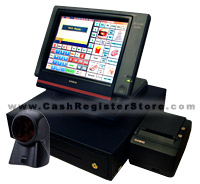 Casio QT-6600 Scanning Touch Screen Cash Register