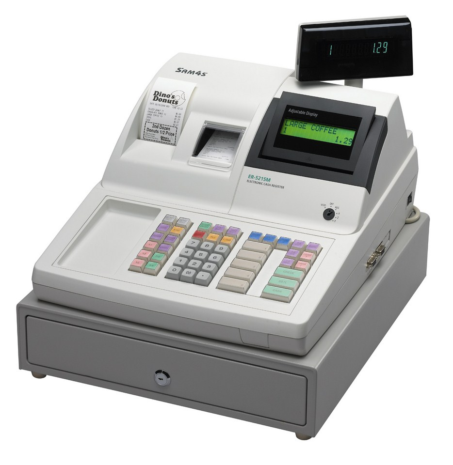 Sam4s / Samsung ER-5215M Cash Register