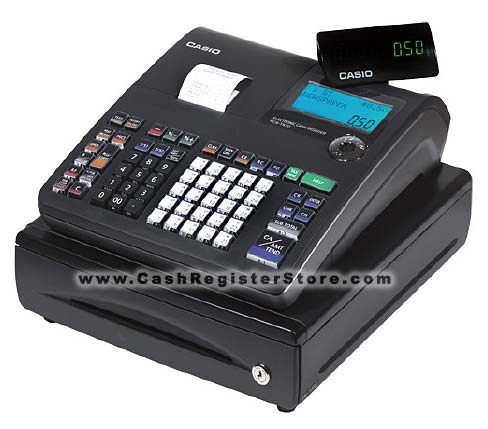 Casio TE-900 Cash Register (w/ Free Lifetime Technical Support)