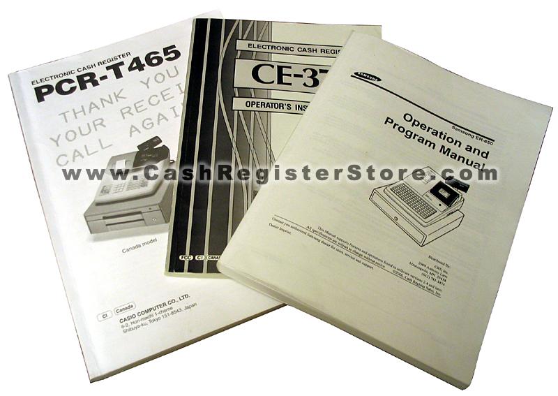 Programming Manual for Casio QT-6600