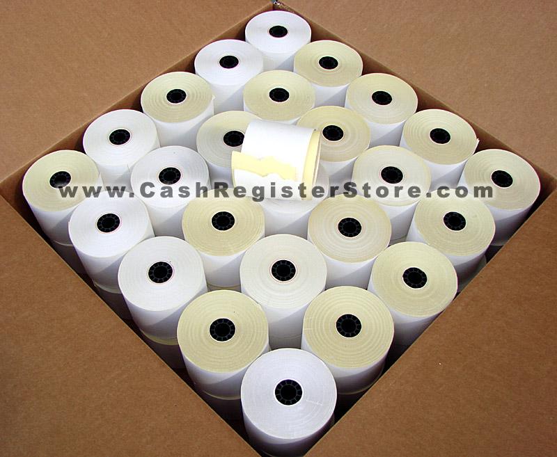 cashregisterstore com u003e sanyo ecr 235 u003e 50 roll pack of 58mm 2 ply rh cashregisterstore com