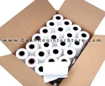 50 Rolls of 58mm Thermal Paper (42 feet) for Verifone VX-675 (15-303)